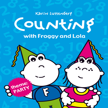 Read kids book Counting with Froggy and Lola in the Rootz kids reading app. Written by Karin Luttenberg
