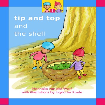 Read kids book Tip and Top and the Shell in the Rootz kids reading app. Written by Hanneke van der Werf