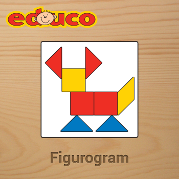 Educational iPad game Figurogram made by Educo to play in the Rootz reading app