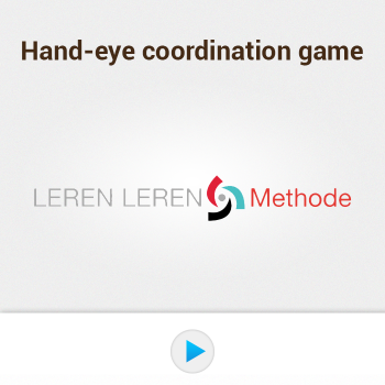Educational iPad game Hand-eye coordination game made by Leren leren to play in the Rootz reading app