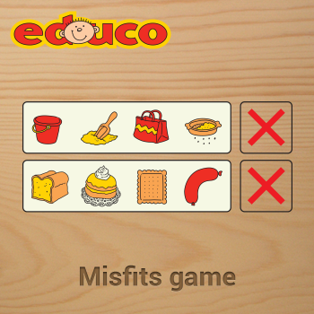 Educational iPad game Misfits game made by Educo to play in the Rootz reading app