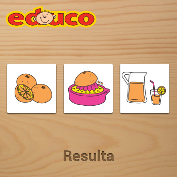 Educational iPad game Resulta made by Educo to play in the Rootz reading app